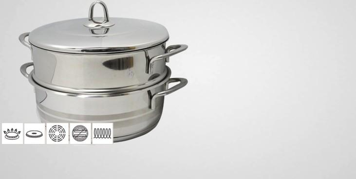 cuit vapeur inox luxe cuit vapeur inox batterie de cuisine la toque d 39 or
