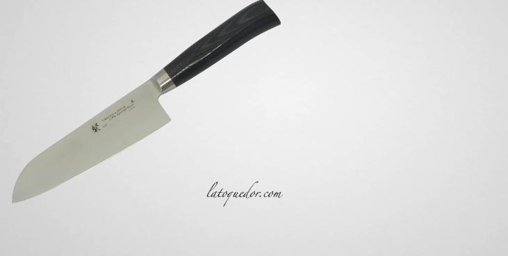 couteau santoku japonais tamahagane couteaux japonais tamahaganes couteaux professionnels. Black Bedroom Furniture Sets. Home Design Ideas