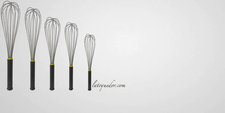 Fouet sauce professionnel fouet de cuisine for Liste ustensiles de cuisine professionnels