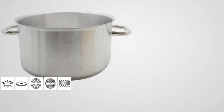 faitout inox professionnel excellence faitout professionnel batterie de cuisine la toque d 39 or. Black Bedroom Furniture Sets. Home Design Ideas