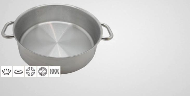 sautoir inox professionnel excellence sautoir professionnel batterie de cuisine la toque d 39 or. Black Bedroom Furniture Sets. Home Design Ideas