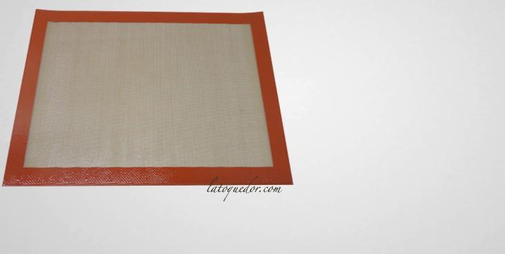 Toile de cuisson professionnelle silpat plaque for Cuisson professionnelle