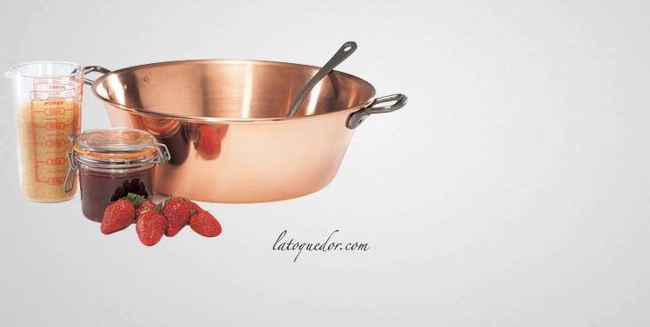 bassine confiture cuivre bassine et cul de poule batterie de cuisine la toque d 39 or. Black Bedroom Furniture Sets. Home Design Ideas