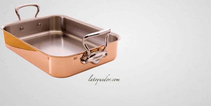 Plat r tir cuivre inox mauviel m 39 150s batterie de - Marque de cuisine francaise ...