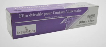 Papier aluminium et film alimentaire consommable la - Film etirable alimentaire cuisine ...