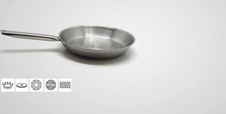 Po le inox professionnelle tradition po le for Poele cuisine professionnelle
