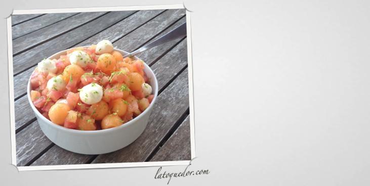 Salade De Melon Mozzarella Recettes De Cuisine La