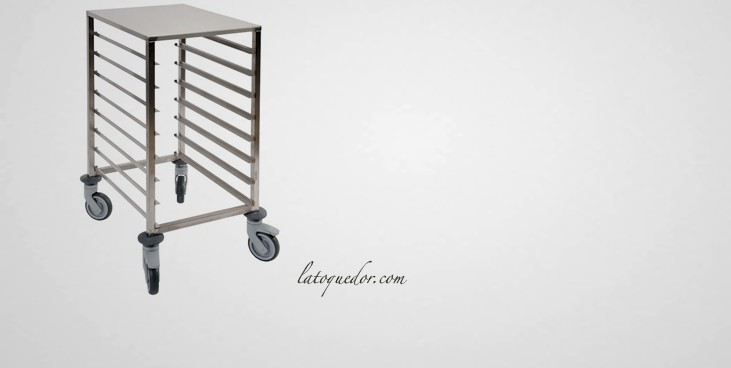Echelle inox table basse 60x40 8 niveaux echelle inox for Echelle cuisine inox
