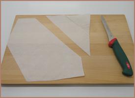 la toque d 39 or r aliser une poche douille avec du papier de cuisson. Black Bedroom Furniture Sets. Home Design Ideas