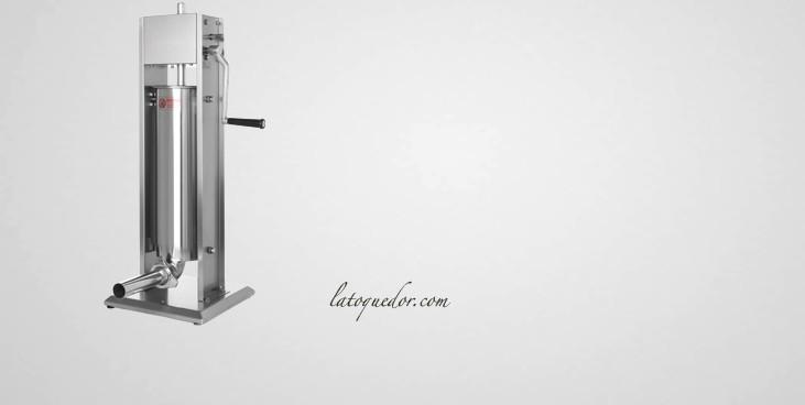 Poussoir à saucisse inox vertical Profil Line 7L