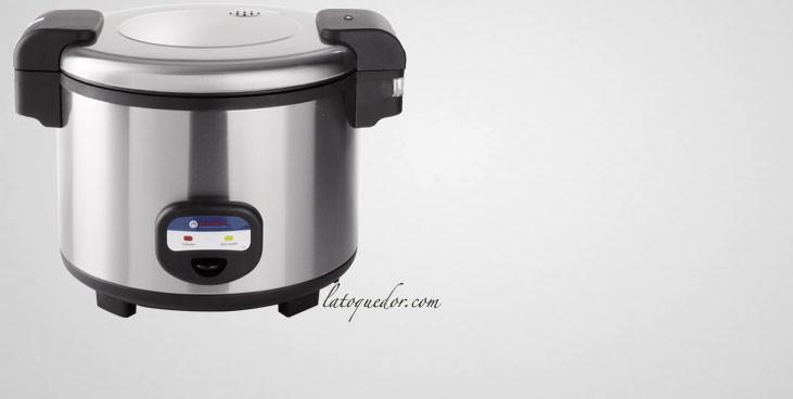 cuiseur riz professionnel hendi 5 4 litres cuiseur riz et cuit vapeur la toque d 39 or. Black Bedroom Furniture Sets. Home Design Ideas