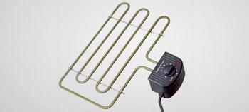 Résistance électrique pour fumoir
