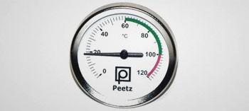 Thermomètre pour fumoir 120°C