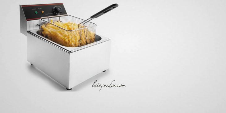 friteuse lectrique lacor 6 litres friteuse professionnelle la toque d 39 or. Black Bedroom Furniture Sets. Home Design Ideas