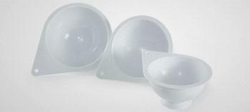 Moule demi-sphère plastique (x3)