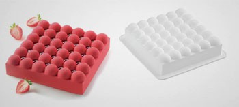 Moule silicone 3D bulles Silikomart