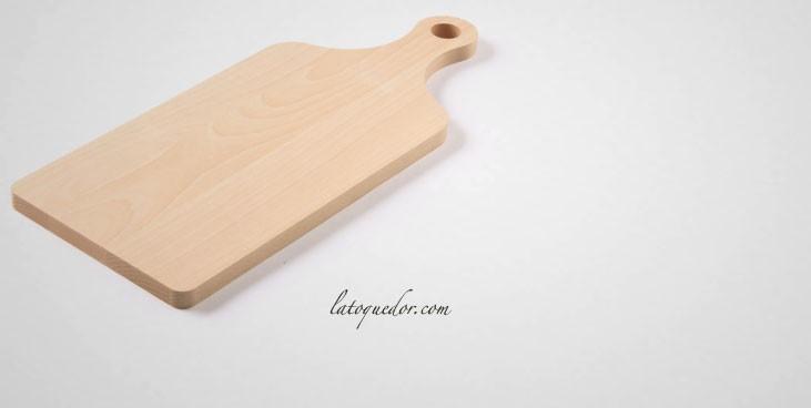 planche d couper bois avec poign e planche d couper. Black Bedroom Furniture Sets. Home Design Ideas