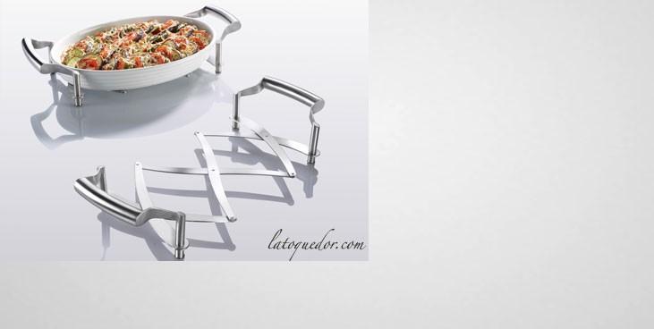Dessous de plat extensible inox accessoires de cuisine for Plats inox cuisine