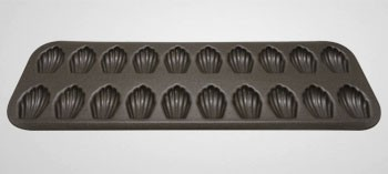 Moule 20 mini madeleines anti-adhésif Gobel