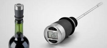 Thermomètre à sonde spécial vin