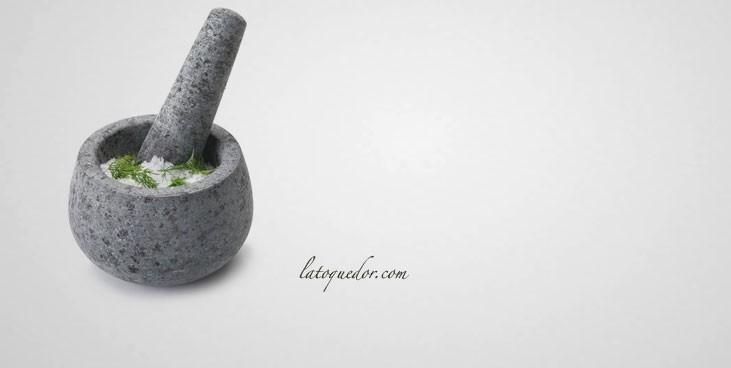 Mortier granit avec pilon PM
