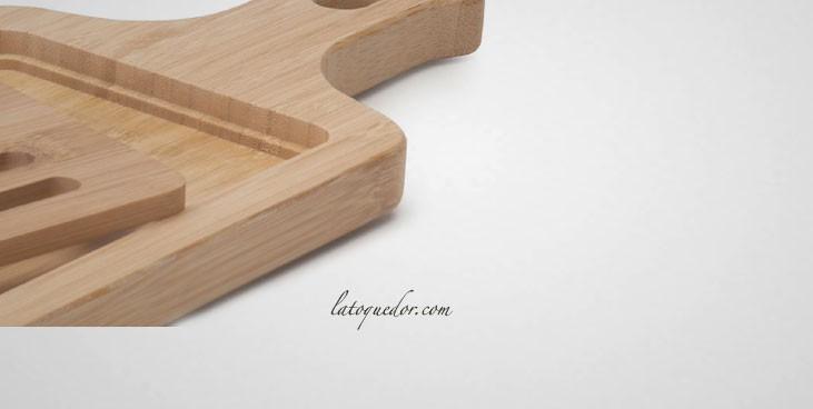 planche pain longue en bambou planche d couper professionnelle la toque d 39 or. Black Bedroom Furniture Sets. Home Design Ideas