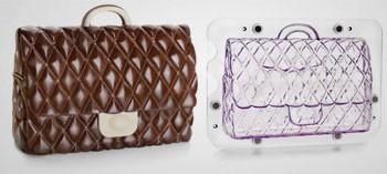 Moule à chocolat sac à main 3D