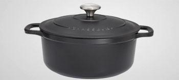 Cocotte en fonte ronde noire - Sublime Chasseur