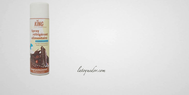 Spray réfrigérant alimentaire 500 ml
