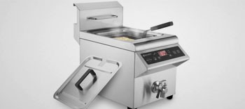 Friteuse professionnelle induction 8L Hendi