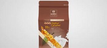 Chocolat Zéphyr Caramel 35% Cacao Barry (2,5 Kg)