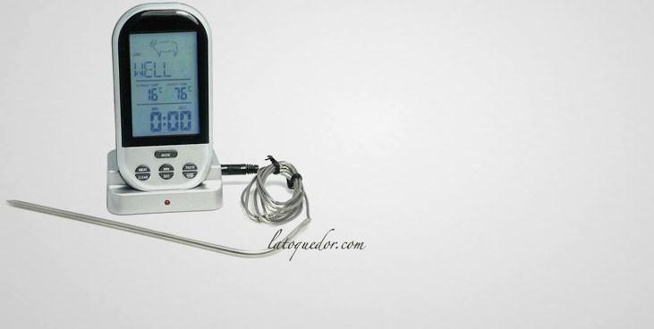 Thermomètre four sans fil avec sonde 0/+300°C