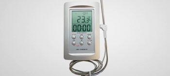 Thermomètre spécial four avec minuteur -50/+300°C