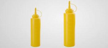 Bouteille biberon jaune
