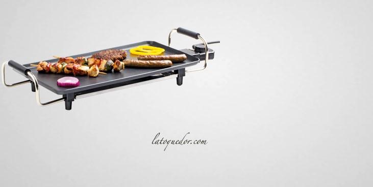 Plaque de cuisson electrique teppanyaki plaque grill - Table de cuisson japonaise teppanyaki ...