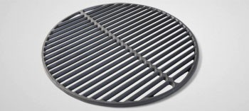 Grille en fonte large pour barbecue Big Green Egg
