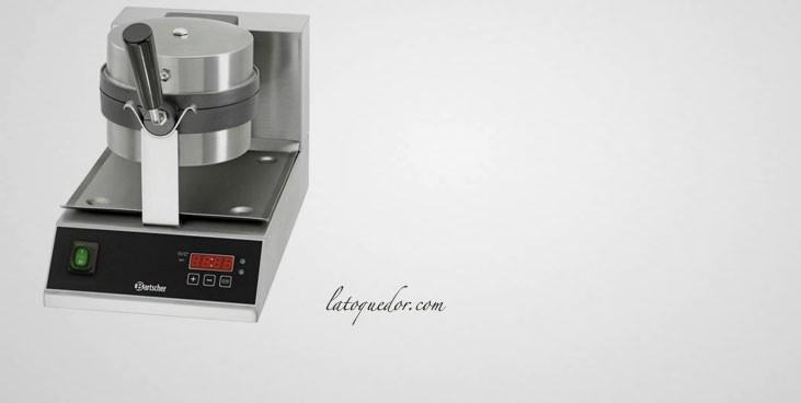 Gaufrier électrique rotatif 180° Delux Bartscher
