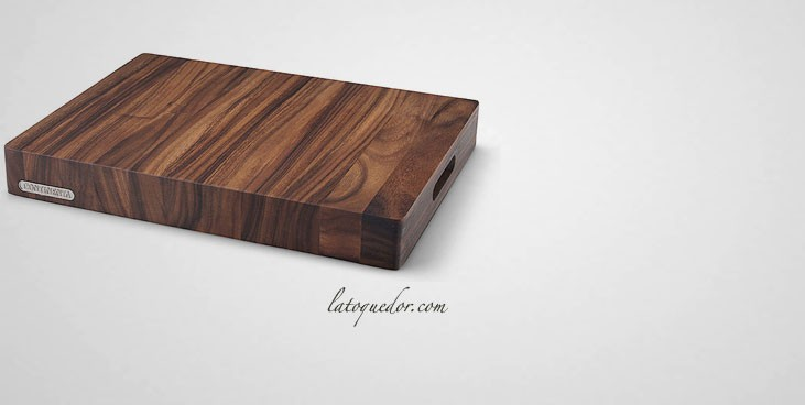 billot d couper en bois d 39 acacia planche d couper professionnelle la toque d 39 or. Black Bedroom Furniture Sets. Home Design Ideas