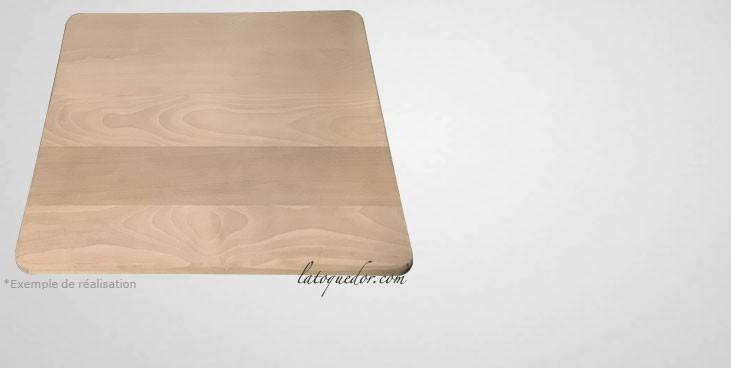 planche d couper sur mesure en bois planche d couper professionnelle la toque d 39 or. Black Bedroom Furniture Sets. Home Design Ideas