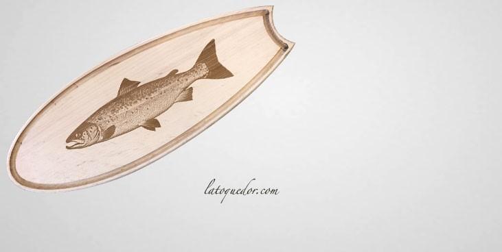 planche d couper bois sp ciale poisson planche. Black Bedroom Furniture Sets. Home Design Ideas
