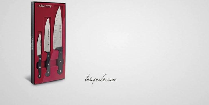 Coffret 3 couteaux de cuisine Universal Arcos