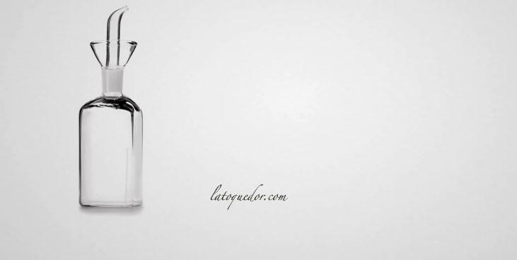 Huilier en verre