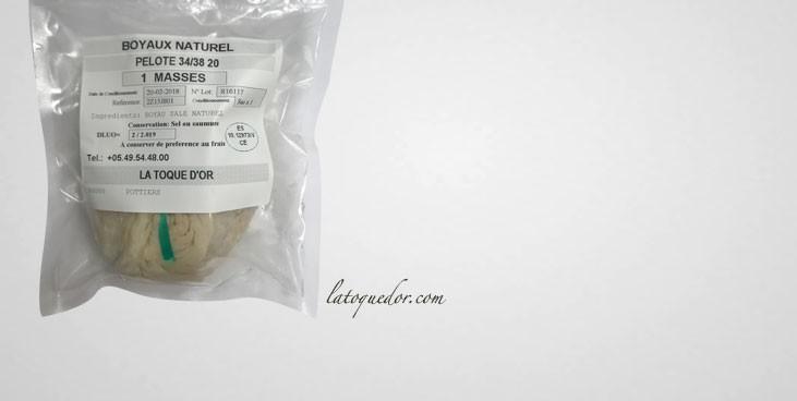 Boyaux de porc sec qualité AAB (20 m)