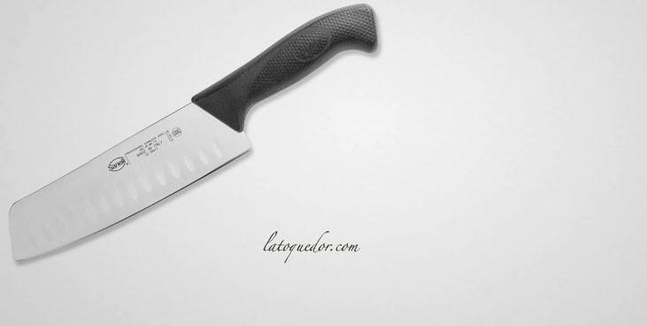Couteau santoku alvéolé Skin - Sanelli