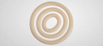 Plaque pour décor chocolat forme cercle