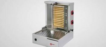 Grill à kebab électrique Diamond 20 Kg