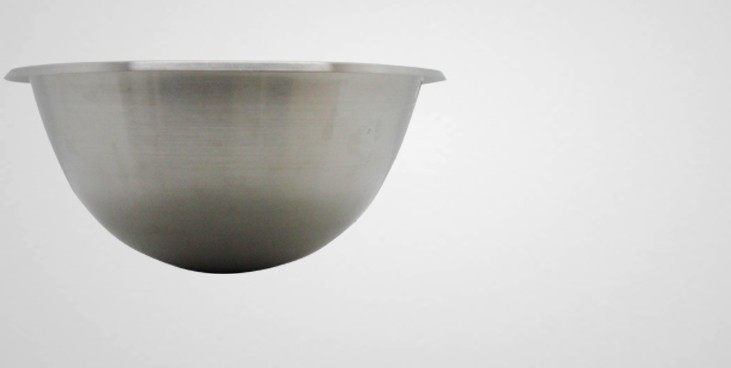 cul de poule inox h misph rique professionnel bassine et. Black Bedroom Furniture Sets. Home Design Ideas