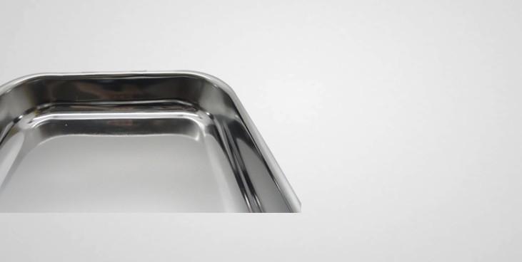 plat gratin inox anses amovibles plat r tir professionnel la toque d 39 or. Black Bedroom Furniture Sets. Home Design Ideas