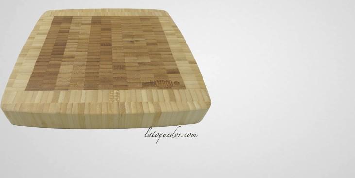 Planche d couper billot en bambou planche d couper professionnelle la toque d 39 or - Planche a decouper en bambou ...