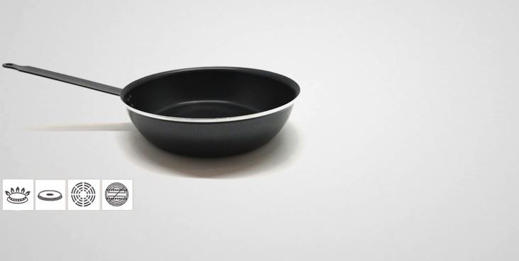 sauteuse anti adh sive professionnelle sauteuse. Black Bedroom Furniture Sets. Home Design Ideas